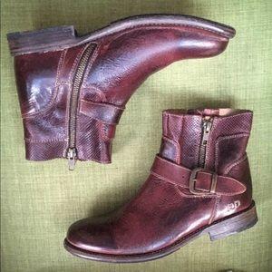 BEDSTU | Becca Ankle Boots - Burgundy, 8